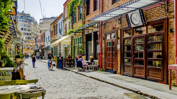 Thessoloniki street