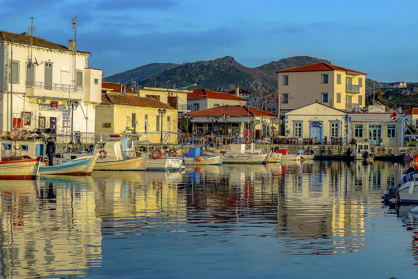 Lemnos old port