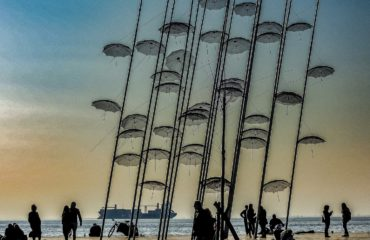 Thessoloniki umbrellas