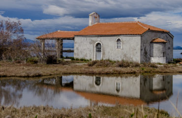Messolonghi wetlands church